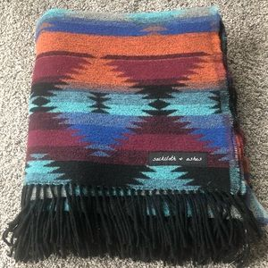 Sackcloth and Ashes Wool Tribal Blanket